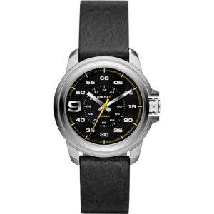 Diesel DZ1745 Watch Strap Black Leather