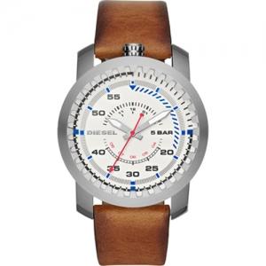 Diesel DZ1749 Watch Strap Brown Leather
