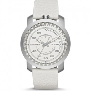 Diesel DZ1752  Watch Strap White Leather