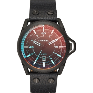 Diesel DZ1793 Watch Strap Black Leather