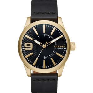 Diesel DZ1801 Watch Strap Black Leather