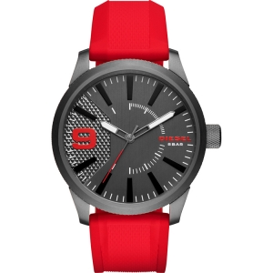 Diesel DZ1806 Watch Strap Red Rubber