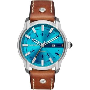 Diesel DZ1815 Watch Strap Brown Leather