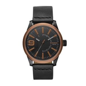 Diesel DZ1841 Watch Strap Black Leather