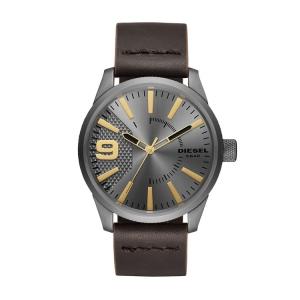 Diesel DZ1843 Watch Strap Brown Leather