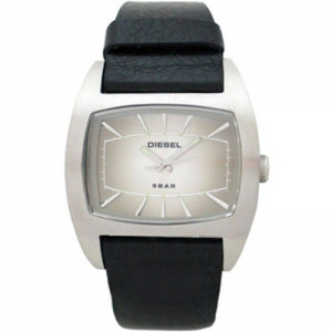 Diesel DZ2062 Watch Strap Black Leather