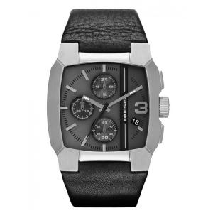 Diesel DZ4275 Watch Strap Black Leather