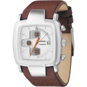 Diesel DZ4029 Watch Strap Brown Leather