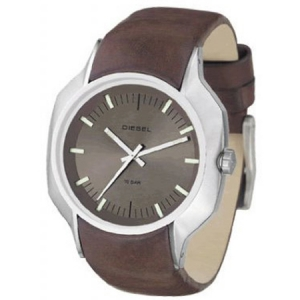 Diesel DZ4041 Watch Strap Brown Leather