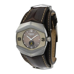 Diesel DZ4072 Watch Strap Brown Leather