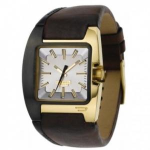 Diesel DZ4081 Watch Strap Brown Leather