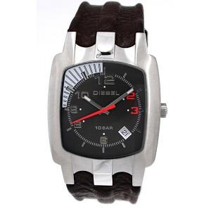 Diesel DZ4117 Watch Strap Brown Leather