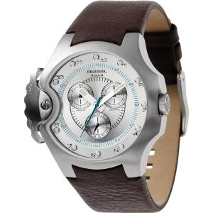 Diesel DZ4132 Watch Strap Brown Leather