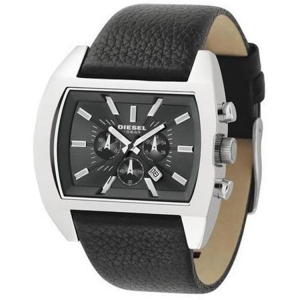 Diesel DZ4140 Watch Strap Black Leather