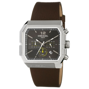 Diesel DZ4191 Watch Strap Brown Leather