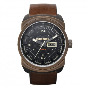 Diesel DZ4239 Watch Strap Brown Leather