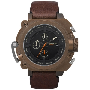 Diesel DZ4245 Watch Strap Brown Leather