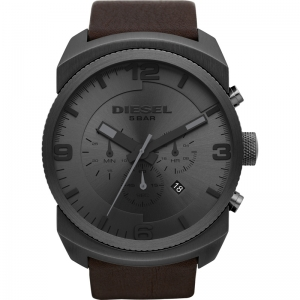 Diesel DZ4256 Watch Strap Brown Leather