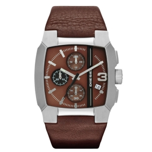 Diesel DZ4274 Watch Strap Brown Leather