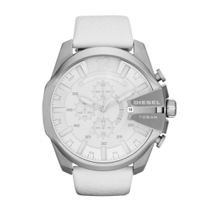 Diesel DZ4292 Watch Strap White Leather