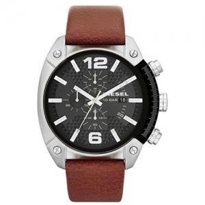 Diesel DZ4296 Watch Strap Brown Leather