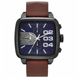 Diesel DZ4302 Watch Strap Brown Leather
