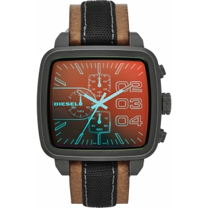 Diesel DZ4303 Watch Strap Brown Leather