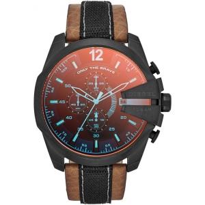 Diesel DZ4305 Watch Strap Brown Leather