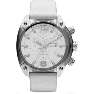 Diesel DZ4315 Watch Strap White Leather