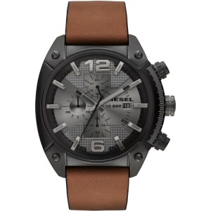 Diesel DZ4317 Watch Strap Brown Leather