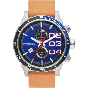 Diesel DZ4322 Watch Strap Brown Leather