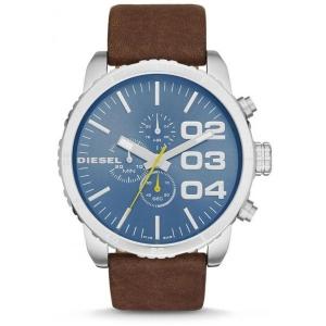 Diesel DZ4330 Watch Strap Brown Leather
