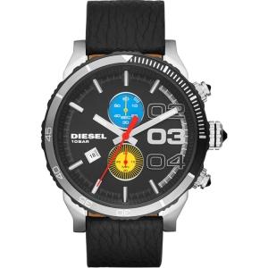 Diesel DZ4331 Watch Strap Black Leather