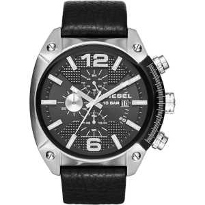 Diesel DZ4341 Watch Strap Black Leather