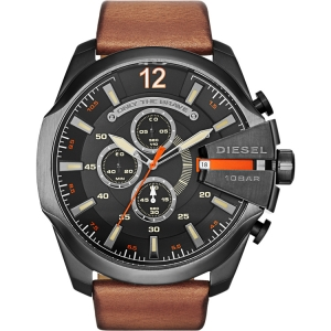 Diesel DZ4343 Watch Strap Brown Leather