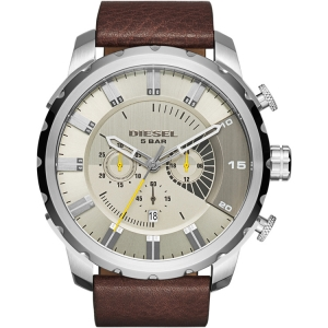 Diesel DZ4346 Watch Strap Brown Leather