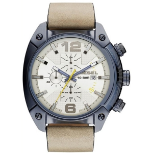 Diesel DZ4356 Watch Strap Beige Leather