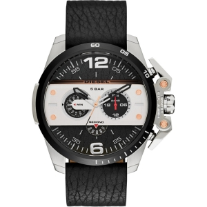 Diesel DZ4361 Watch Strap Black Leather