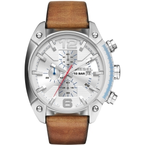 Diesel DZ4380 Watch Strap Brown Leather