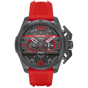 Diesel DZ4388 Watch Strap Red Rubber