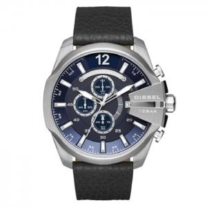 Diesel DZ4423 Watch Strap Black Leather