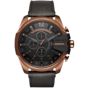 Diesel DZ4459 Watch Strap Black Leather