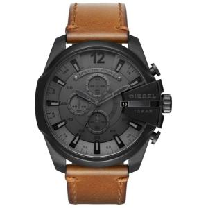 Diesel DZ4463 Watch Strap Brown Leather