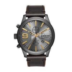Diesel DZ4467 Watch Strap Brown Leather