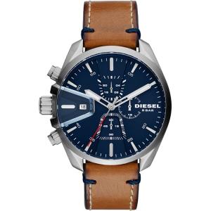 Diesel DZ4470 Watch Strap Brown Leather