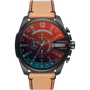 Diesel DZ4476 Watch Strap Brown Leather