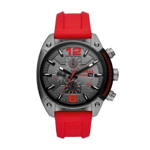 Diesel DZ4481 Watch Strap Red Rubber