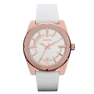 Diesel DZ5342 Watch Strap White Leather