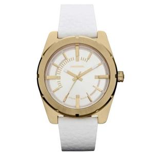 Diesel DZ5356 Watch Strap White Leather