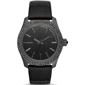 Diesel DZ5436 Watch Strap Black Leather